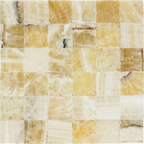 2 quot x 2 quot squares honey onyx stone polished mosaic