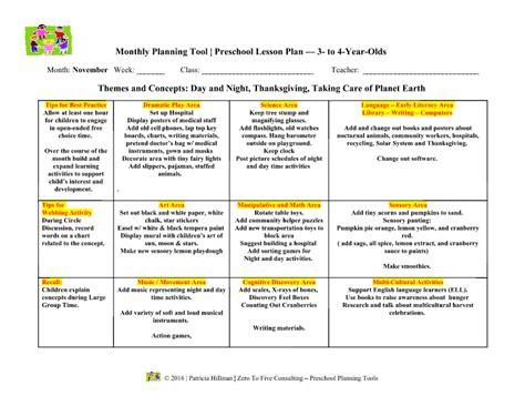 homeschool lesson plan sle toddler thanksgiving lesson plans 100 images best 25