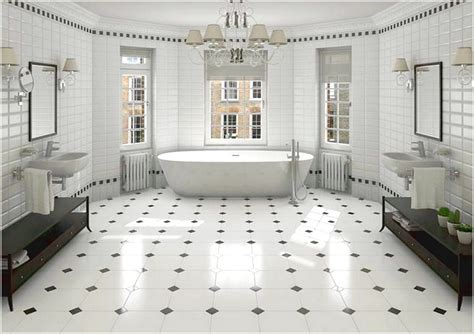 your floor and decor black and white bathroom floor tiles