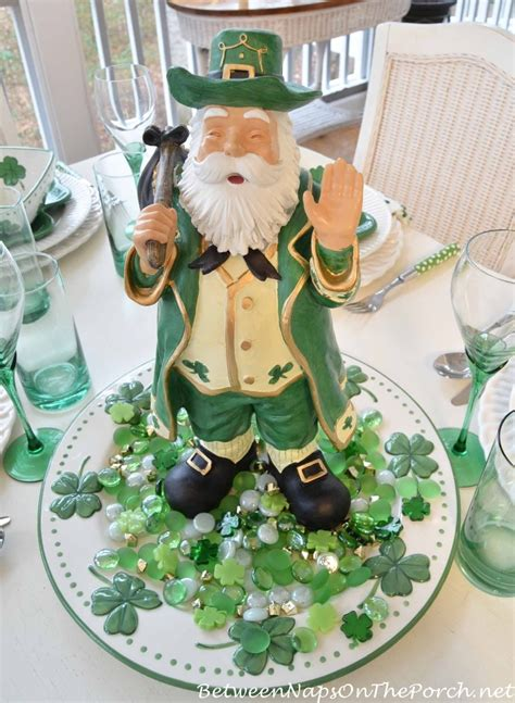 Nautical Decorations For Home St Patrick S Day Table Setting And Decorations
