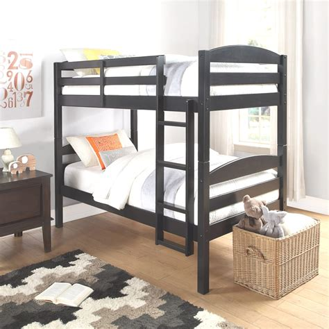 Espresso Bunk Beds The Agenda Of Allentown Roy Home Design