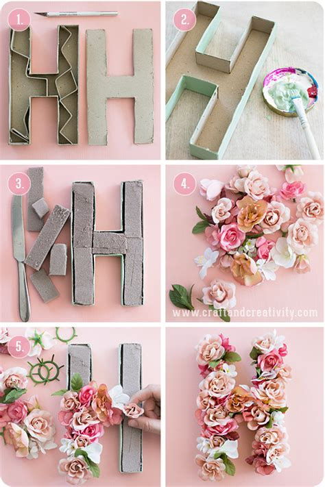 decorative paper letters 10 summer diy projects you must try wonder forest