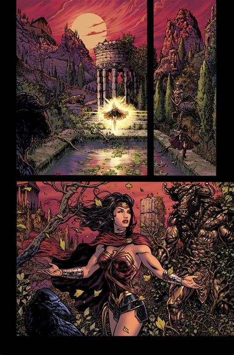 wonder woman the rebirth 1401276784 wonder woman rebirth preview images library of wonder