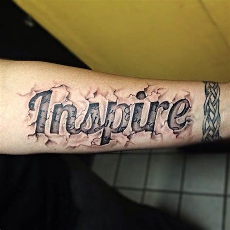 Tattoo 3d Lettering | 17 best images about 3 d tattoos on pinterest back