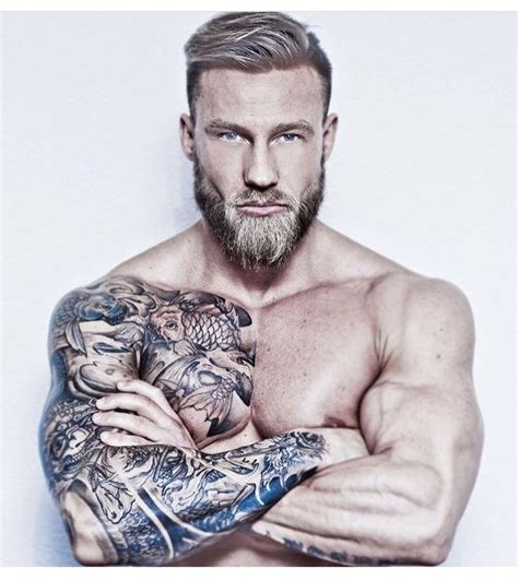hot tattoos for mens 2188 best images about bearded on