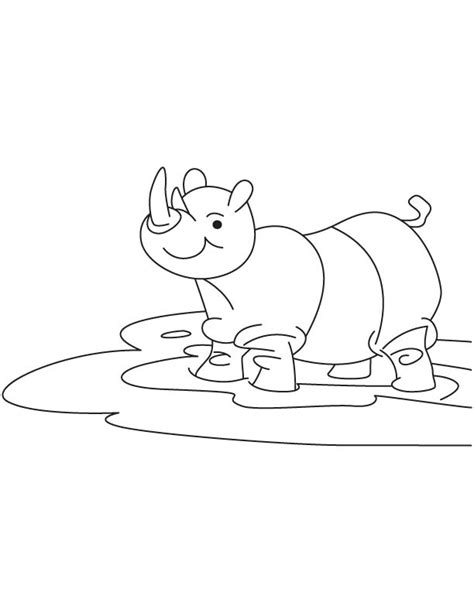 baby rhino coloring page baby rhinoceros coloring page download free baby