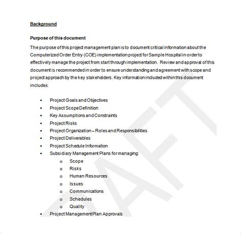 project work plan examples kays makehauk co