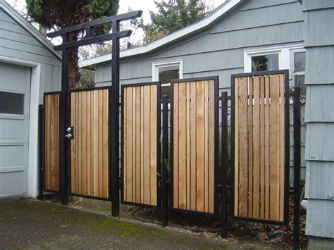 Decorative Metal Fence Panels by Decorative Outdoor Garden Panels Metal Fabrication In