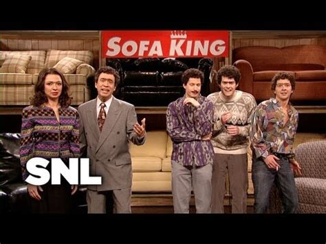 Sofa King Saturday Night Live Youtube Saturday Live Sofa King