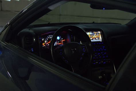 nissan frs interior nissan gtr led interior conversion first one i know of