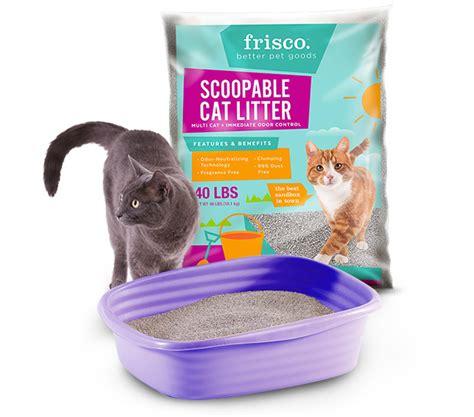 cat litter frisco multi cat clumping cat litter 40 lb bag chewy