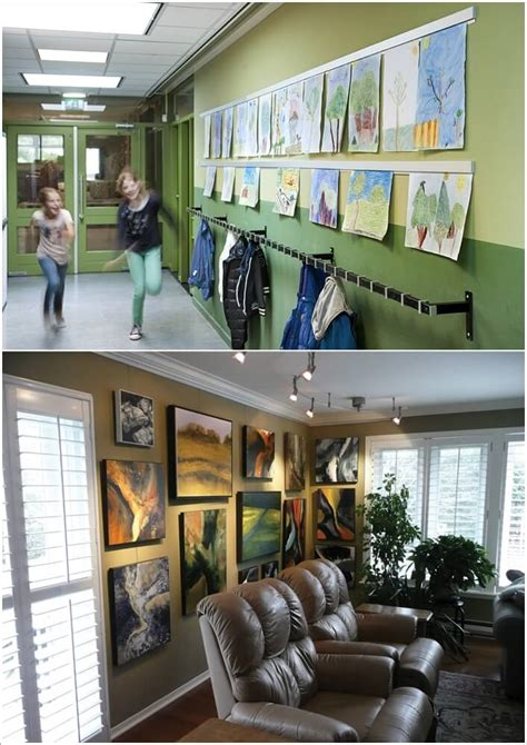 hanging pictures without nails amazing interior design