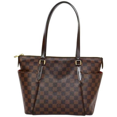 Louis Vuitton Dust Bag louis vuitton damier totally pm bag and dust bag for sale at 1stdibs