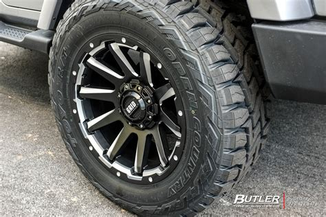 jeep wrangler   grid offroad gd wheels exclusively  butler tires  wheels