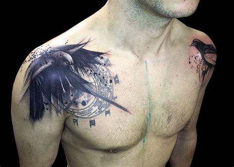 imagenes no realistas con su significado los mejores tatuajes de cuervos y su significado