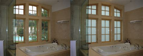 electric frosted privacy glass window remodeling