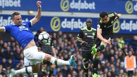 chelsea everton 2017 everton 0 3 chelsea match report highlights