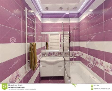 progettazione bagno gratis illustrazione 3d di progettazione di un bagno nel colore