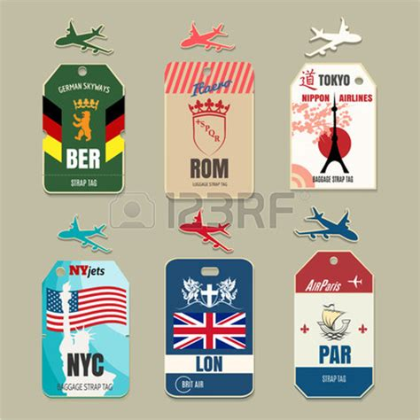 airline luggage tag template 10 luggage tag templates free premium templates