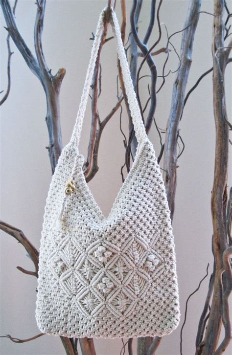 Macrame Crochet - 131 best images about macrame bags on jute