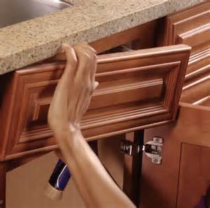 Behind Cabinet Door Storage Hidden Storage False Front Drawer
