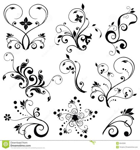 convertir imagenes a vectores en illustrator vectores florales ilustraci 243 n del vector ilustraci 243 n de