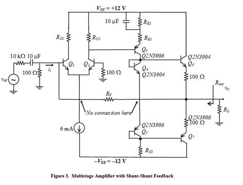 transistor lifier output stage 1 analyze the original three stage lifier as de chegg