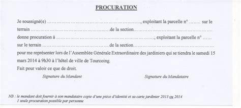 Exemple Lettre De Procuration Maroc Modele Procuration Generale Au Maroc Document