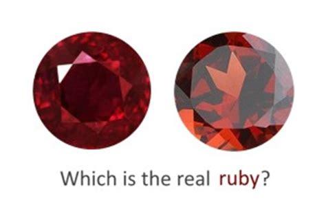 rubies vs diamonds worth how to spot a ruby gemstone