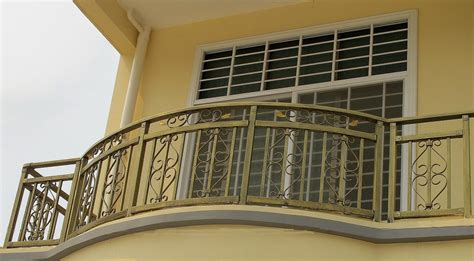 outdoor and patio sweet stainless steel balcony railing in