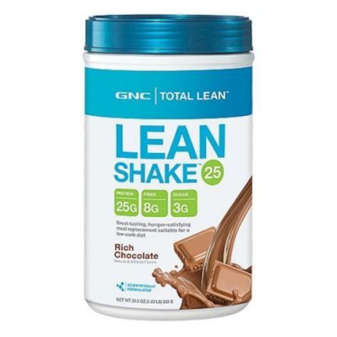protein gnc gnc total lean chocolate shake high protein 1 83 lb s