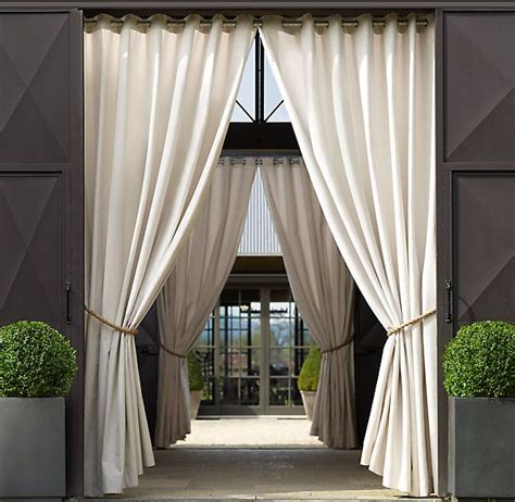 outdoor curtains porch 1000 ideas about outdoor curtains on pinterest outdoor