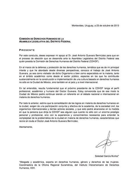 carta de apoyo candidatura de jos 233 antonio guevara berm 250 dez cartas de apoyo para la candidatura a la presidencia de