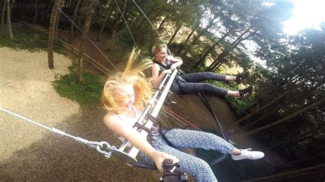 swinging in sussex giant swing experience in east sussex experience days