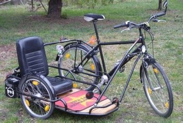 antivol remorque vélo v 233 lo side car wiklou le wiki du biclou