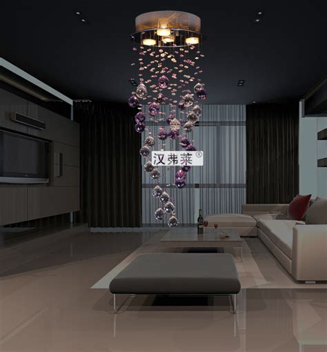 free shipping modern crystal ceiling light hanging l