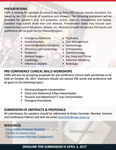 Call For Workshop Proposals Template Conference Presentation Template Brettfranklin Co