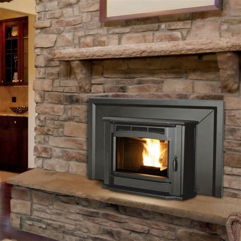 Fireplace Pellet Insert by Enviro 30 X 25 Milan Series Pellet Fireplace Insert