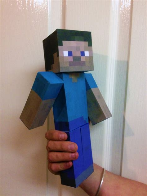 How To Make Minecraft Steve Out Of Paper - march 2013 fpsxgames