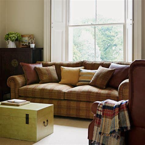 tartan sofa uk interior design ideas tartan good housekeeping