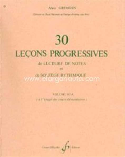 0043029817 lecons progressives de lecture de m 233 todos y ejercicios 183 30 le 231 ons progressives de lecture