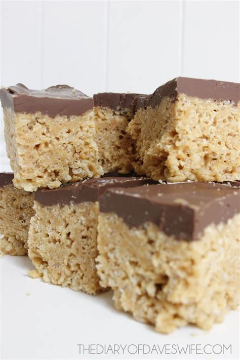 rice crispy bars with chocolate on top 25 best ideas about cereal treats on pinterest snack
