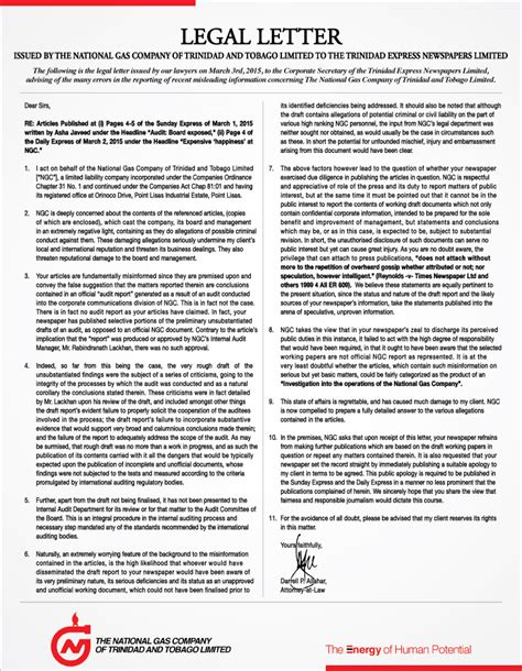 Release Letter From Attorney Cv Key Skills Yahoo