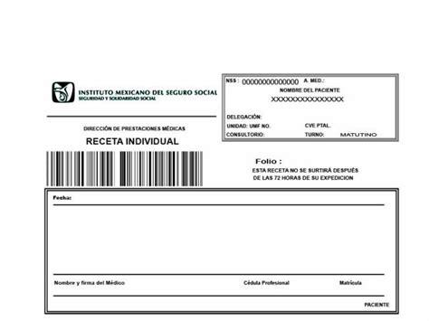 descargar receta medica del imss formato editable zonambuloz receta medica del imss en montemorelos