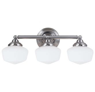 Sea Gull Lighting 44438ble 962 Brushed Nickel Academy 3 Title 24 Bathroom Lighting