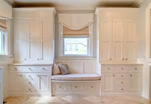 Window Seat With Cabinets by Bathroom Window Seat Transitional Bathroom Farinelli