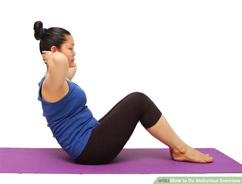 ways   abdominal exercises wikihow