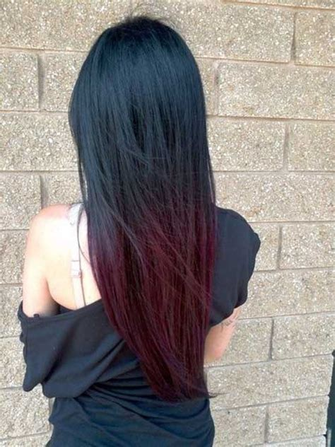 hair color on bottom 35 long ombre hairstyles