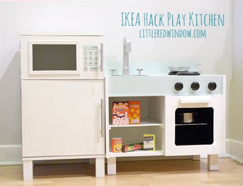 diy ikea play kitchen hack kitchen hacks cabinets and 37 ikea hacks that will transform your home ritely