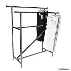 garment rack rail rack with z brace garment rack racks palay display